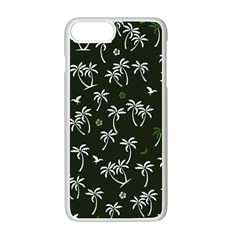 Tropical Pattern Apple Iphone 7 Plus Seamless Case (white)