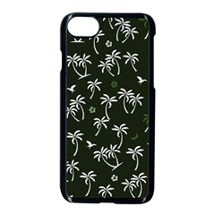 Tropical Pattern Apple Iphone 7 Seamless Case (black)