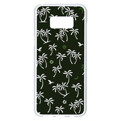 Tropical Pattern Samsung Galaxy S8 Plus White Seamless Case