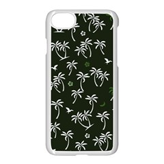 Tropical Pattern Apple Iphone 8 Seamless Case (white)