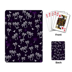 Tropical Pattern Playing Card