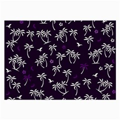 Tropical Pattern Large Glasses Cloth