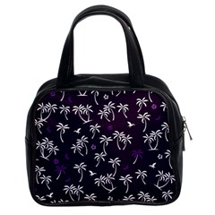 Tropical Pattern Classic Handbags (2 Sides)