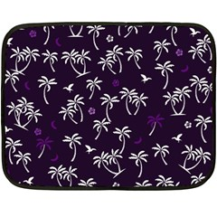Tropical Pattern Double Sided Fleece Blanket (mini)