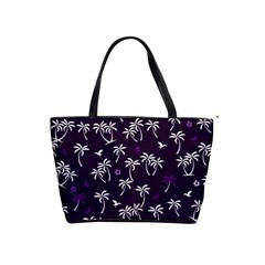 Tropical Pattern Shoulder Handbags