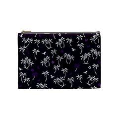 Tropical Pattern Cosmetic Bag (medium)