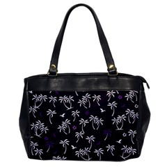 Tropical Pattern Office Handbags