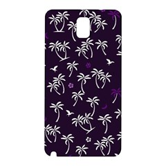 Tropical Pattern Samsung Galaxy Note 3 N9005 Hardshell Back Case