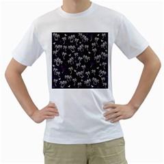 Tropical Pattern Men s T Shirt (white)