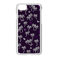 Tropical Pattern Apple Iphone 7 Seamless Case (white)