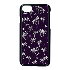 Tropical Pattern Apple Iphone 8 Seamless Case (black)