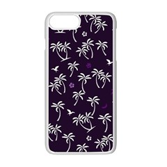 Tropical Pattern Apple Iphone 8 Plus Seamless Case (white)