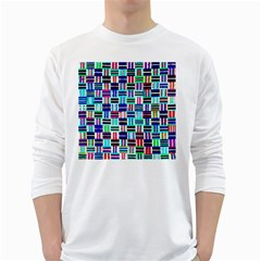 1 White Long Sleeve T Shirts