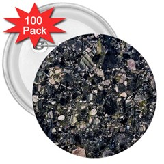 Granite 0154 3  Buttons (100 Pack)