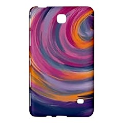 Purple Circles Swirls Samsung Galaxy Tab 4 (7 ) Hardshell Case