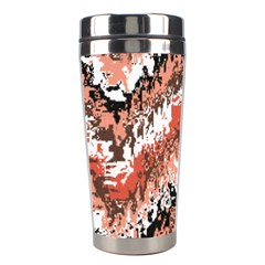 Watercolor Native Zig Zags Stainless Steel Travel Tumblers by flipstylezdes