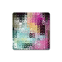 Abstract Butterfly By Flipstylez Designs Square Magnet