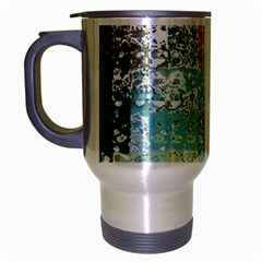 Abstract Butterfly By Flipstylez Designs Travel Mug (silver Gray)