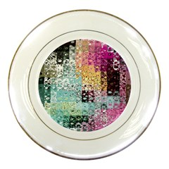 Abstract Butterfly By Flipstylez Designs Porcelain Plates