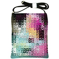 Abstract Butterfly By Flipstylez Designs Shoulder Sling Bags
