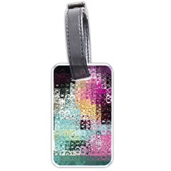 Abstract Butterfly By Flipstylez Designs Luggage Tags (two Sides)