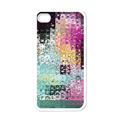 Abstract Butterfly By Flipstylez Designs Apple Iphone 4 Case (white)