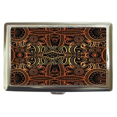 Brown And Gold Aztec Design  Cigarette Money Cases
