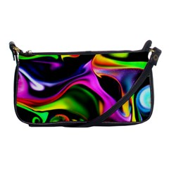 Colorful Smoke Explosion Shoulder Clutch Bags