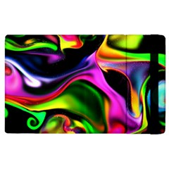Colorful Smoke Explosion Apple Ipad 2 Flip Case by flipstylezdes
