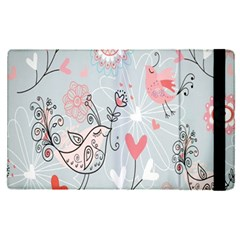 Cute Love Birds Valentines Day Theme  Apple Ipad Pro 12 9   Flip Case