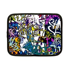 Graffiti Wall Cartoon Style Art Netbook Case (small)