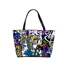 Graffiti Wall Cartoon Style Art Shoulder Handbags