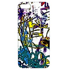 Graffiti Wall Cartoon Style Art Apple Iphone 5 Hardshell Case With Stand by flipstylezdes