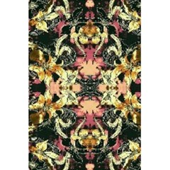 Beautiful Seamless Brown Tropical Flower Design  5 5  X 8 5  Notebooks by flipstylezdes