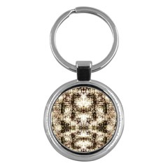 Gorgeous Brown Rustic Design By Kiekie Strickland Key Chains (round)  by flipstylezdes