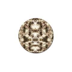 Gorgeous Brown Rustic Design By Kiekie Strickland Golf Ball Marker (4 Pack) by flipstylezdes