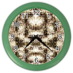 Gorgeous Brown Rustic Design By Kiekie Strickland Color Wall Clocks