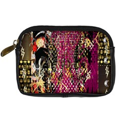 Multi Pattern Purple Gold Silver Lighting Icons Created By Kiekie Strickland  Digital Camera Cases