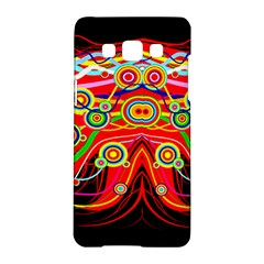 Colorful Artistic Retro Stringy Colorful Design Samsung Galaxy A5 Hardshell Case