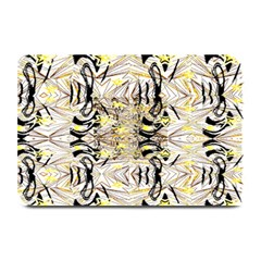 Retro Seamless Black And Gold Design Plate Mats