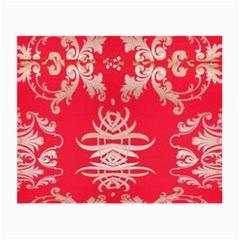 Red Chinese Inspired  Style Design  Small Glasses Cloth