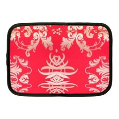 Red Chinese Inspired  Style Design  Netbook Case (medium)