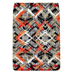 Retro Orange Black And White  Flap Covers (s)  by flipstylezdes