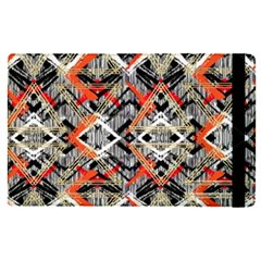 Retro Orange Black And White  Apple Ipad Pro 9 7   Flip Case