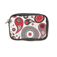 Fun Red And Black Design Coin Purse