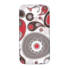 Fun Red And Black Design Samsung Galaxy S4 I9500/i9505  Hardshell Back Case by flipstylezdes