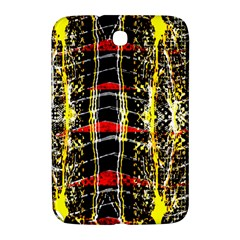 Retro Red And Black Liquid Gold  Samsung Galaxy Note 8 0 N5100 Hardshell Case  by flipstylezdes