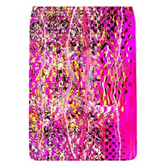 Hot Pink Mess Snakeskin Inspired  Flap Covers (s)  by flipstylezdes