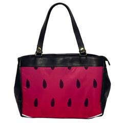 Watermelon Fruit Summer Red Fresh Office Handbags