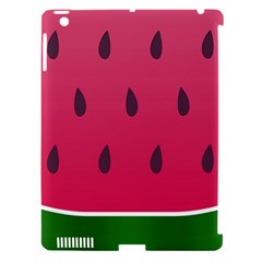Watermelon Fruit Summer Red Fresh Apple Ipad 3/4 Hardshell Case (compatible With Smart Cover)